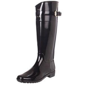 Ralph Lauren Black Rossalyn II Rainboots